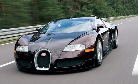 the Bugatti Page: Bugatti Veyron driving experience
